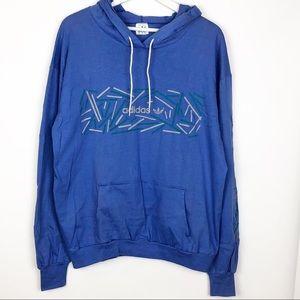 Vintage Adidas pullover hoodie